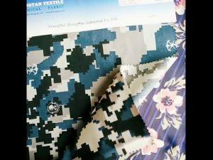 1000D найлонова кордура водоустойчива камуфлажна тъкан