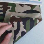 Камуфлажна шарка 80/20 памучна полиестерна кърпа за военна униформа