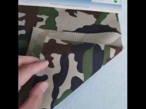 Камуфлажна шарка 8020 памучна полиестерна кърпа за военна униформа