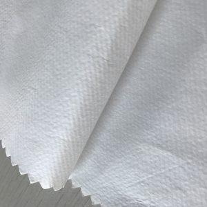 WF1 / O6SO5 SS + PE 65gsm Полипропиленов нетъкан текстил + PE за еднократна защитна материя за медицинско облекло