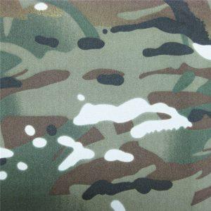 тефлон 100% полиестерни тъкани водоустойчиви външни военни камуфлажни тъкани дъждобран