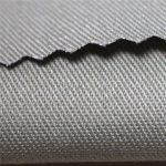 350gsm памук забавящ пламък сатен материал тъкани работно облекло EN11612 FR плат за coverall