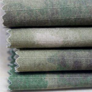 Антистатичен военен печат Ripstop памучен плат за армейски облекла