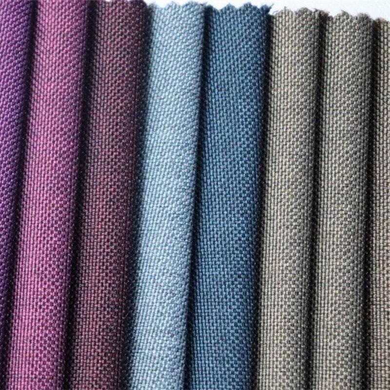 Търговия на едро-полиестер-два тона цвят-Оксфорд-плат