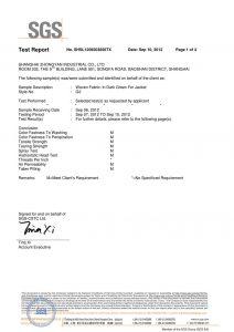 Тъкани тъкани в тъмно зелено за яке SGS сертификати