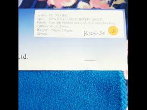 Китай фабрика 100% полиестер руно антистатични тъкани зимни яке